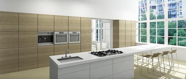 orienteren op een keuken